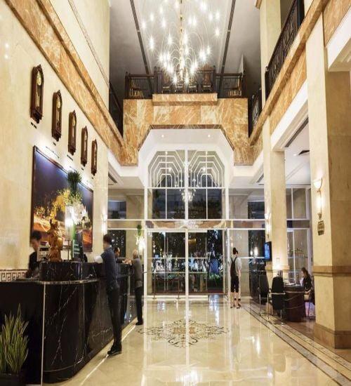 Thiết kế nội thất khách sạn Saphire Đà Nẵng