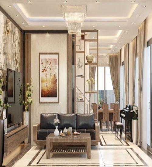 Thiết kế nội thất biệt thự Gia Lâm