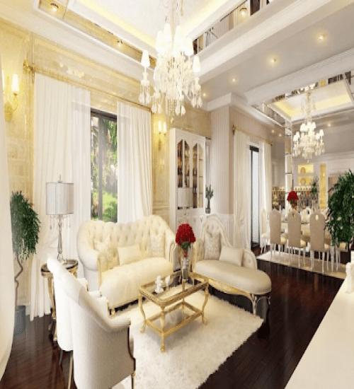 Thiết kế nội thất nhà liền kế Khu đô thị An Ninh