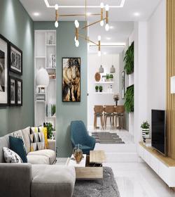 Thiết kế nội thất nhà phố Quận 10