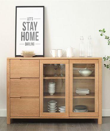 Tủ bếp gỗ tự nhiên thiết kế đa năng đẹp hiện đại